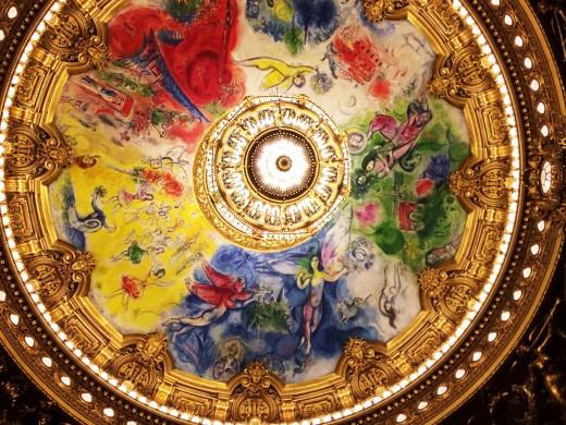 オペラ座の天井絵画