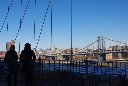 New York City from Bridge