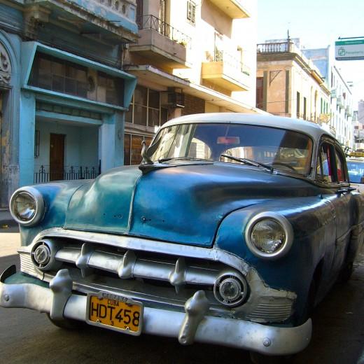 ハバナのオールドカー