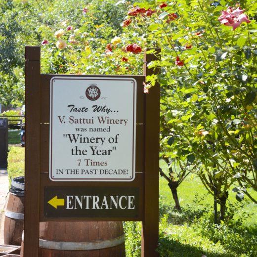 Napa Valley V. Sattui Entrance