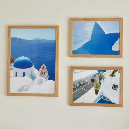 サントリーニ島のインテリアポスター(A3/A4)